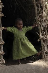 Eberhard Riedel Girl in Green, Ituri Forest, Uganda, 2007 Archival Inkjet Print