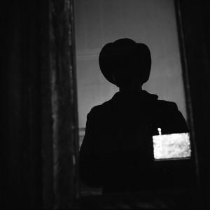 Vivian Maier, Chicago (Self-portrait, Vivian's Silhouette), 1973