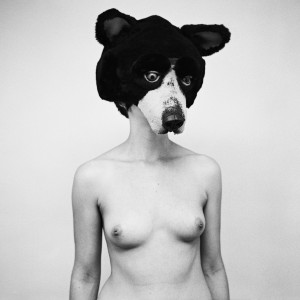 Henry Horenstein, Jess in Bear Mask