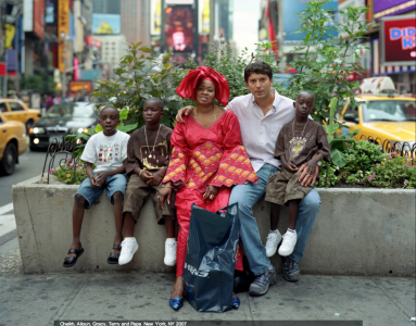 Cheikh, Alioun, Gracey, Terry and Pape, New York, NY 2007