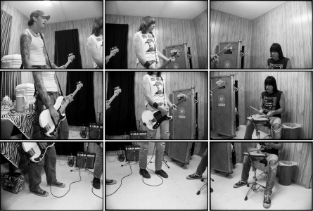 Steve Gilbert, The Ramones warming up