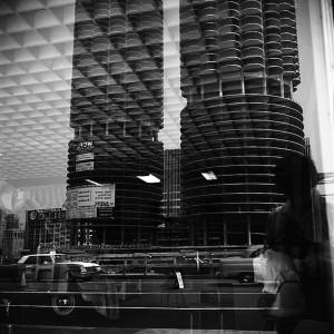 Vivian Maier, Marina City, Chicago (Self-Portrait, Reflection), c.1965