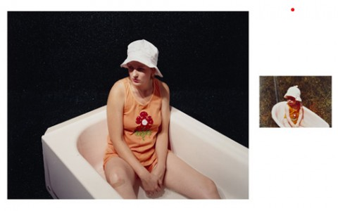 Joelle Jensen, Repose: Bath 1973-2004, C-Prints mounted on Dibond 2004