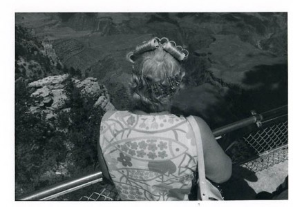Michael Kaufman, Woman with Curlers , 1980, Gelatin Silver Print