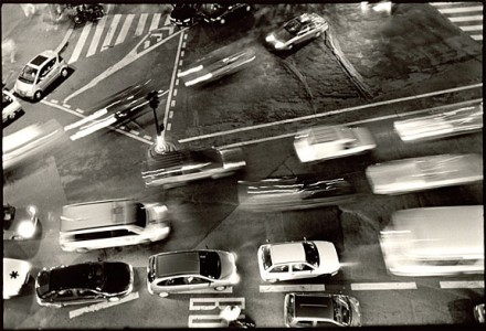 Timothy Dowling, Street Below Window , 2001, Archival Digital Print