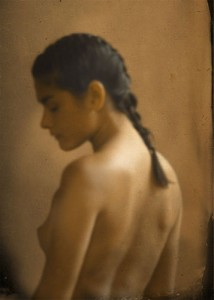 Marc Yankus Nude with Ponytail, 2001, Pigment Print