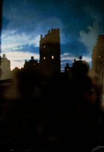Marc Yankus Sheridan Square at Night, 2002, Pigment Print