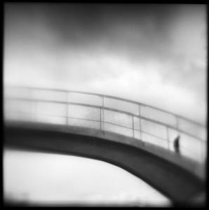 Susan Burnstine Bridge To Nowhere, 2006. Archival pigment, hand varnished