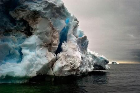 Camille Seaman, Dirty Iceberg, Cape Bird, Antarctica, 2006