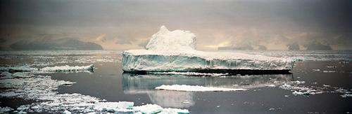 Camille Seaman, Crumbling Iceberg 1, Cape Adare, Antarctica, 2006   next »
