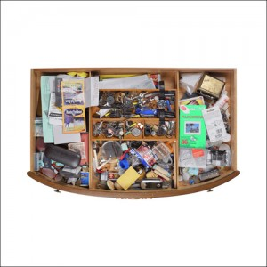 Richard Gilbert, WA  Junk Drawer #18, 2006