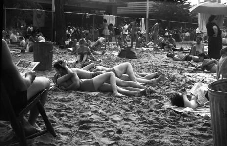 Vivian Maier, Coney Island, New York (Couple Kissing at Beach), c. 1951-55