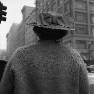 Vivian Maier, Los Angeles (Woman in Sweater From Behind),1955
