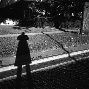 Vivian Maier, Wilmette, IL (Self-Portrait, Full- Length Shadow), 1968