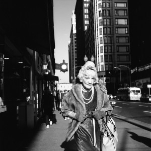 Vivian Maier, Chicago (Woman with Pearls),1967