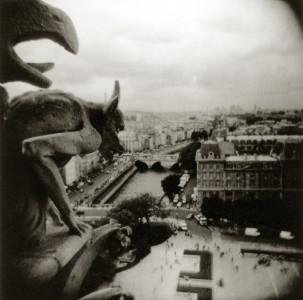 Ann Pallesen, Gargoyle, Notre Dame, Paris, 2003