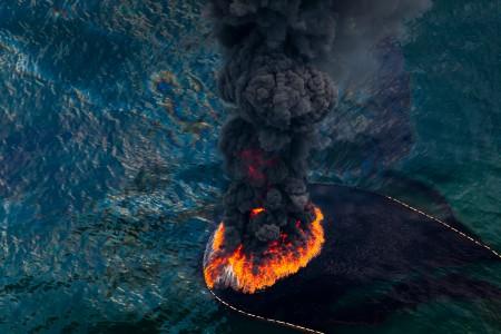 Daniel Beltra, Oil Spill #1