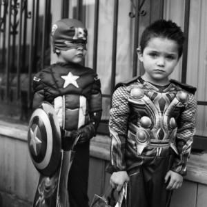 Lisa Ahlberg, Captain America, Thor