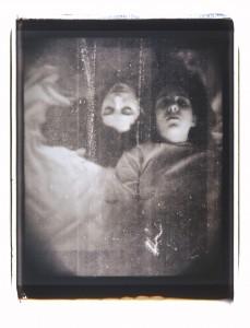 Diane Fenster, Twins, Polaroid Print