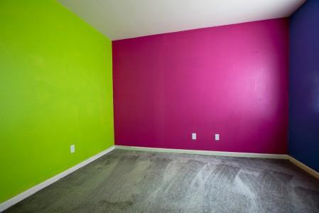 Kirk Crippens, Foreclosure, USA: Bedroom Walls, 2009