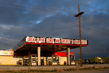Danea Males, Jesus Christ is Lor Travel Center Armillo Texas