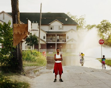 Daniel Farnum, Open Fire Hydrant, Detroit, 2012