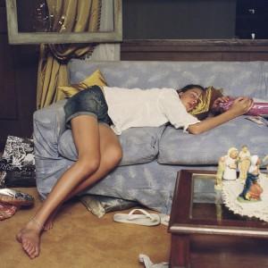 Katrina D'autremont, Milagros asleep on Christmas Eve