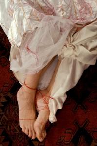 Gazelle Samizay, Upon My Daughter, Feet