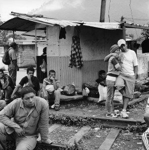 Michelle Frankfurter, Migrants, Orizaba, Veracruz 2010
