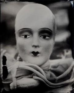 Connie Begg, French Doll Head