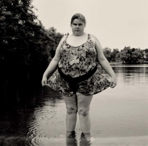 Gary Grenell, Heavy Girl in Green Lake, 1996
