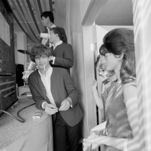 Jini Dellaccio, Ron Gardner of The Wailers, 1965