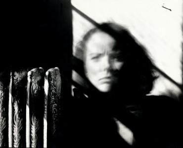 Janet Neuhauser, Self Portrait with 8x10 Camera, 1981