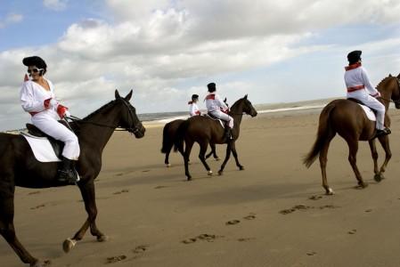Landon Nordeman, Elvis on Horseback, Porthcawl, Wales, 2005. Honorable Mention