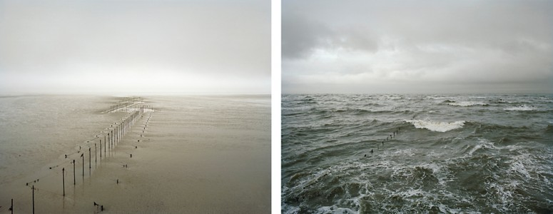 Michael Marten, Solway Firth. 27 and 28 March 2006. Low water 5.20pm, high water 12 noon