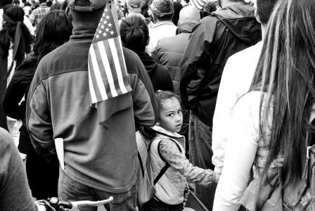 Olinger_David_Child in Crowd_1226pm