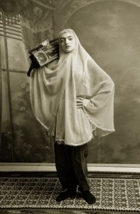 Shadi Ghadirian, Qajar #3, 1998