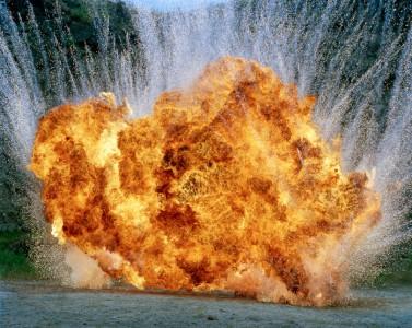 Geoffrey H. Short, Untitled Explosion #9LF, 2007