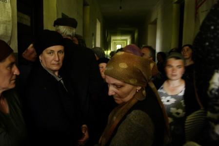 Daro Sulakauri, Chechen Refugees