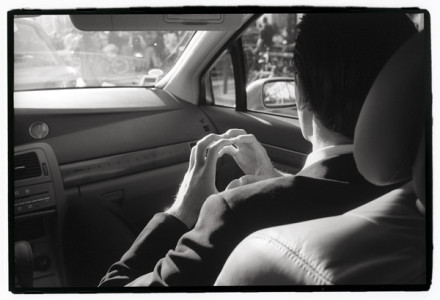 Sylvia Plachy, En Route, Cannes, 2002