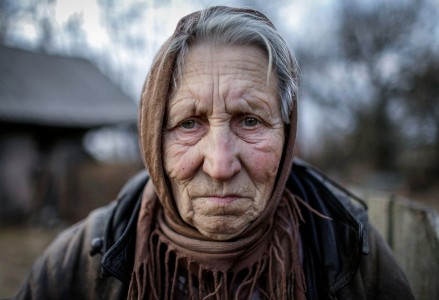 Diana Markosian, Lida Masanovitz, 74, a former nurse, was born and raised in the abandoned ghost town of Redkovka