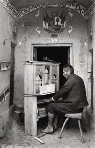 Organist, Chapel at Tinta; Kanchis, ca 1934.