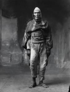 Indian from Paruro, Cuzco studio, ca 1932.