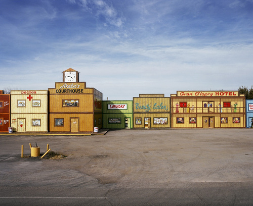 Akela Flats, AZ, 2008 Archival Digital Print © William Rugen