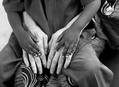 Mamatoto, 2008 Silver Gelatin Print © Rozarii Lynch