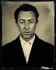 Alan, 2008 C-Print from Wet Collodion Negative © Jody Ake