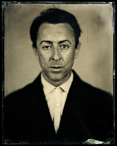 Alan, 2008 C-Print from Wet Collodion Negative © Jody Ake
