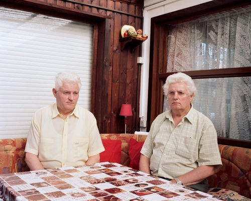 The Twins, from the series: As if nothing happened, 2008 C-Print © Dorothee Deiss