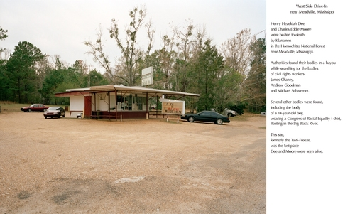 West Side Drive-In, near Meadville, Mississippi, 2008 Archival Pigment Print © Jessica Ingram