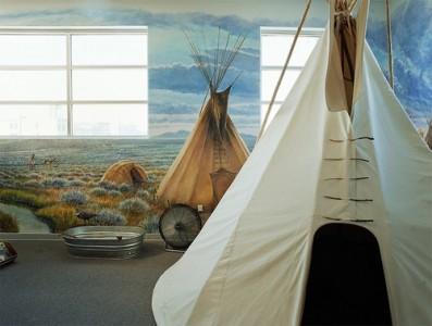 Teepees—Museum of Idaho, 2006 Chromogenic Print © Alexis Pike